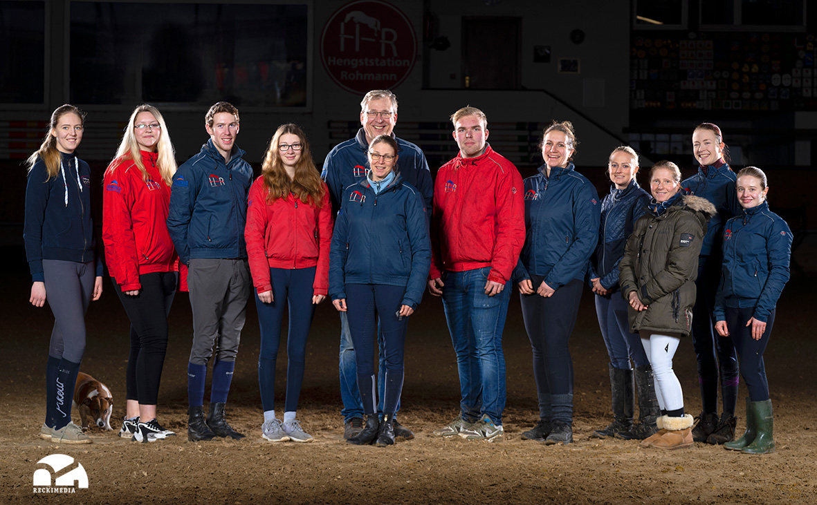 Team Hengste Rohmann ©Reckimedia